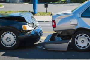 car accident fender bender